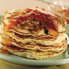 Fruit Muffin Mix Pancakes from Martha White®