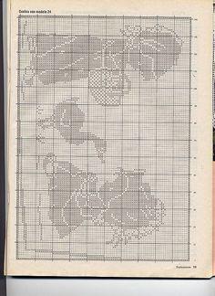 Gallery.ru / Фото #78 - Crochet Filet pour Point de Croix 1 - Mongia