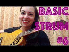 Basic Ukulele Strum #6 : Waltz Strum in 3 or 6 - YouTube