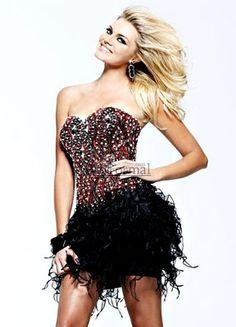 rocker prom dresses