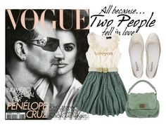 """""""BONO & PENÉLOPE"""" by micaelatamara ❤ liked on Polyvore featuring Yumi, Jennifer Meyer Jewelry, Repetto and Marc by Marc Jacobs"""