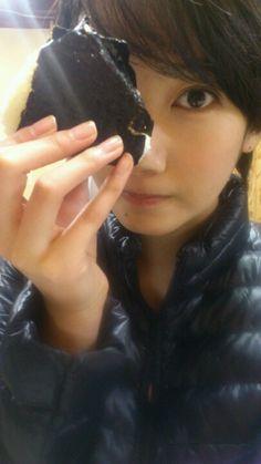 おにぎり。 の画像 波瑠オフィシャルブログ「Haru's official blog」Powered by Ameba
