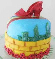 My mini Wizard of Oz cake