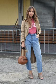 Pin for Later: Das ist schon jetzt der wohl beliebteste Schuh der Saison Milan Fashion Week Miroslava Duma
