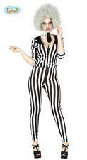 GUIRCA Costume Beetlejuice girl gangster halloween carnevale donna mod. 8095_ in Abbigliamento e accessori, Carnevale e teatro, Costumi e travestimenti, Donna | eBay