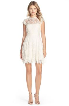 e7829383ff11f4 BB Dakota Rhianna Open Back Lace Fit   Flare Cocktail Dress (Nordstrom  Exclusive)