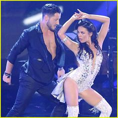 Janel Parrish & Val Chmerkovskiy Bring Sexy Back with