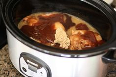 Slow Cooker BBQ Chicken Sandwiches. Butter With A Side of Bread