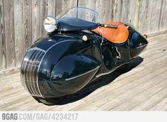 not car. customized motor