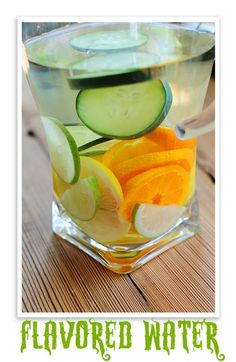 Orange/Cucumber Water