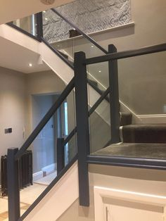 Renovate Your Staircase Spiral Stairs Design, Staircase Design, Painted Staircases, Painted Stairs, House Staircase, Modern Staircase, House Extension Design, House Design, Rose Gold Room Decor