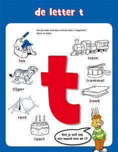 Letters - Bobo Letter T, Letter Logo, Expressions, 4 Kids, Quizzes, Spelling, Language, Activities, Briefs