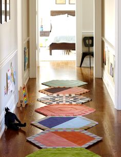 Hallway Hexagons   This Is A Very Interesting Carpeting Product From A  Company   KinderGround.