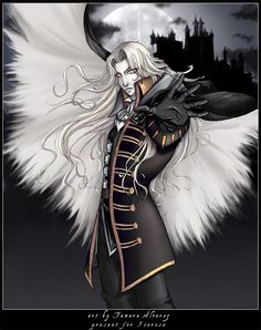 Castlevania SOTN - Alucard by =Noiry on deviantART