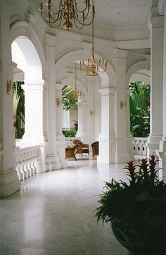 Raffles Hotel - all this place needs is a grand piano.