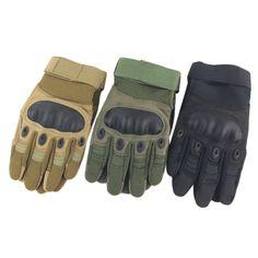 Hot Outdoor Tactical Armor Fiber Tortoiseshell Riding Camping Finger Gloves