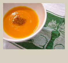 A Sopa Nossa de Cada Dia: Sopa de abóboras