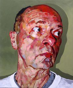 """Saatchi Online Artist: Hanjo Schmidt; Acrylic, 2010, Painting """"White Shirt"""""""