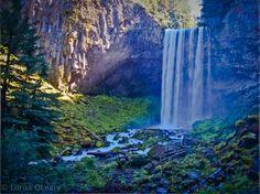Tamanawas Falls near Mt Hood