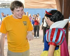 Amazing story of an autistic boy and his relationship with the Snow White's Scary Adventures ride at Disneyland.  It is heartwarming (and tearjerking) to read about how so many people combined together to make a memorable experience of his milestone first (and second!) thousand rides and finally, attraction's last trip. Though it's a long read, it's definitely worth it.  Follow the links on the side for the whole story. (Not gonna lie, I totally cried!)