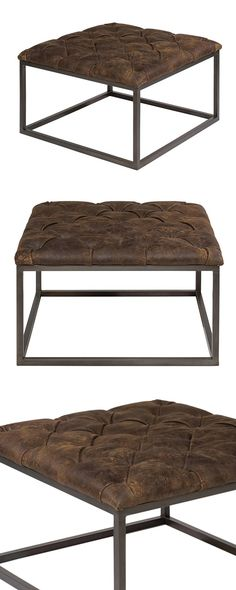 The Cripple Creek Coffee Table defines all that is wonderful about bringing earth-inspired themes into a casual décor. There's a soft ease that comes with natural textiles and metals. Use this chic, tu...  Find the Cripple Creek Coffee Table, as seen in the 1920s Paris Collection at http://dotandbo.com/collections/1920-s-paris?utm_source=pinterest&utm_medium=organic&db_sku=114932