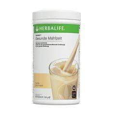 Formula 1-Shake Köstliche, gesunde Mahlzeit mit perfekt ausgewogenen Anteilen an qualitativ hochwertigen Soja- und Milchproteinen, essenziellen Mikronährstoffen und pflanzlichen Stoffen. # 0141Vanille 550 g # 0142Schokolade 550 g # 0143Erdbeere 550 g # 0144Tropenfrucht 550 g # 0146Cookies & Cream 550 g # 1171Cappuccino 550 g # 2790      Apfel-Zimt 550g