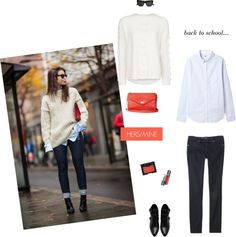 Back to School outfit via A Slice of Glam Blog