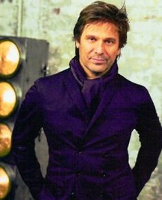 Roger Taylor, drummer for Duran Duran. Still handsome as ever!  (And still my favorite of the fab five!)