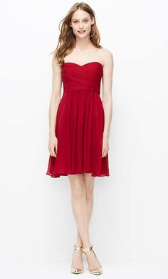 ddeaca5964a Apple Red Bridesmaid Dress for Fall and Winter Weddings