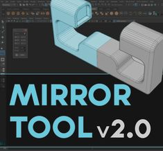Mirror Tool is a small script, helper, to make object mirroring a bit more intuitive and fun. It is based on Maya (now legacy) Mirror Cut tool which is not available by default in Maya 2016 Extension 2 and up since there is now just one tool - Mirror. That said, Mirror Cut can still be used under the hood even in latest Maya 2018 releases so if you are missing Mirror Cut - here it is. It comes with few improvements: Quick +/- X, Y or Z axis mirror, No object disappearing or material/shader…