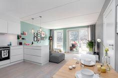 FINN – Gamlebyen - Unik mulighet! Vesentlig oppgradert og stilren 2-roms selveier fra 2014 - Solrik balkong -Tøff detaljer