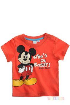 T-shirt #Mickey orange https://www.toluki.com/prod.php?id=1067 #enfant #Toluki #mode