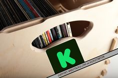 Support WAX STACKS on Kickstarter Record Crate, Crates, Wax, Projects, Log Projects, Shipping Crates, Laundry, Cubbies