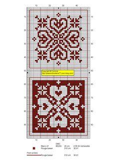 - Mes petites croix et moi ! Blackwork Embroidery, Embroidery Art, Cross Stitch Embroidery, Biscornu Cross Stitch, Cross Stitch Heart, Beaded Christmas Ornaments, Christmas Cross, Cross Stitch Designs, Cross Stitch Patterns