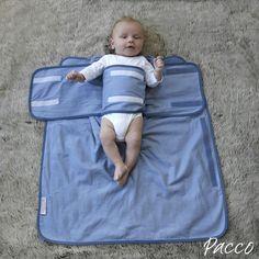 Baby sicher und richtig Pucken mit Pacco Pucktuch.