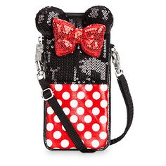 Minnie Mouse Sequined Smartphone Case   Disney Store