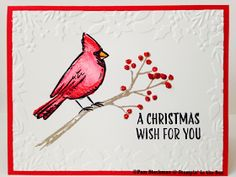 Stampin' in the Sun: Two Christmas Cards: Stampin' Up! Festival of Trees and Joyful Season