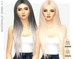 MISSPARAPLY | [TS4] NIGHTCRAWLER DAYANA: 64 SOLIDS & 64 OMBRES...