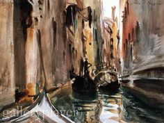 captures the canals of Venice so perfectly - Sargent - from my camera gallery (ViewNX software)