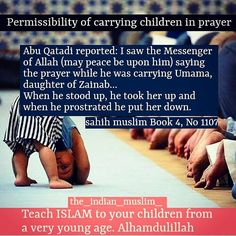For fear of losing the prayer on time; I used to pray with my kids in my hand. Even taraweeh and qiyamul Layl. Alhamdulillah.