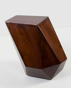 """Emerald"" Contemporary Side Table by Achille Salvagni image 2"
