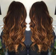 Caramel Hazelnut Ombre Ombre Hairstylist  HairMakeupNails  Pinterest