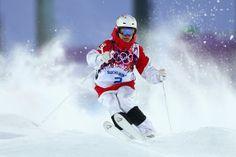 Canadian Mikael Kingsbury. Silver medal in men's moguls. Sochi 2014 Olympics. #mikaelkingsbury