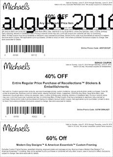 Printable Coupons: Michaels Coupons
