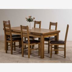 corona mexican pine 152 cm dining table with 6 chairs. original rustic solid oak nest of tables corona mexican pine 152 cm dining table with 6 chairs .