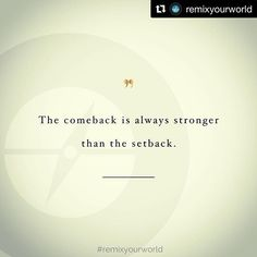 #Repost @remixyourworld with @get_repost  Often times we allow our setbacks to keep us down. The relentless loop of our story circumstances and harsh judgments of ourselves becomes all to familiar and safe. When we are the ones who have to choose to either make a comeback or stay stuck. Sometimes the very first step in a triumphant comeback is as simple as asking for help. Imagine a world where our leaders artists or activists and athletes allowed their setbacks to define their comeback… We Are The Ones, Ask For Help, Activists, Relentless, Follow Me On Instagram, First Step, Athletes, Comebacks, Times