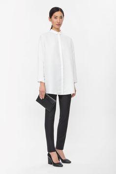 COS   Clean-edge shirt