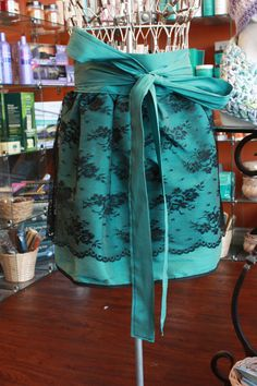 Fancy Lace Hostess Apron by catscratchclothing on Etsy, $35.00