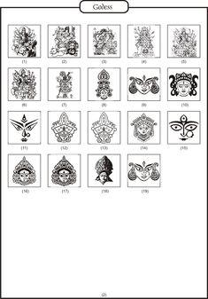 Hindu Logos Hindu Deities, Hinduism, Worli Painting, Hindu Wedding Cards, Wedding Painting, Hindu Mantras, Lord Shiva Painting, Anime Expressions, Wedding Logos