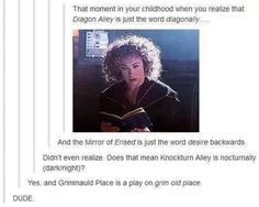 Imagine harry potter, funny, and diagon alley